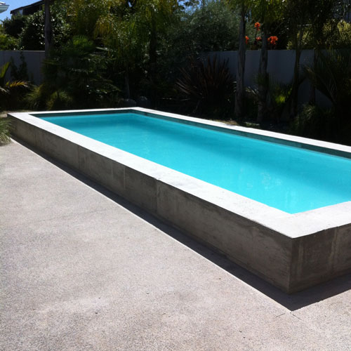 A premium Holcroft Prestige swimming pool pairs well with your landscape.